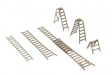 Artitec 316.054 - Ladder-set  ready 1:160