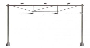 Sommerfeldt 580 - Bovenleidingportaal voor 3 sporen