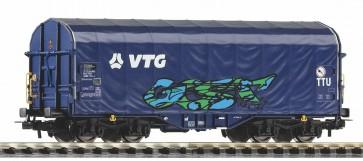 Piko 58965 - Schiebeplanenwg. VTG VI mit Graffiti