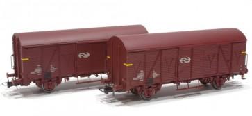 Rivarossi HR6431 - Twee wagens NS, Van Gend en Loos