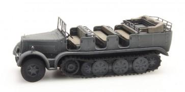 Artitec 6870065 - WM Sd.Kfz. 7 Zugkraftwagen 8t grijs  ready 1:87