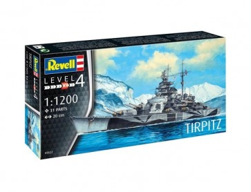 Revell 65822 - Model Set Tirpitz