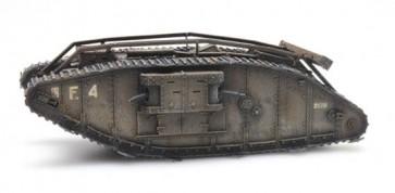 Artitec 6870179 - WW I Mark IV UK female 1917 Flirt II  ready 1:87