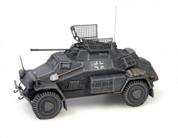 Artitec 387.70 GR - WM Sdkfz 222 Pz. Spähwagen 4-Rad 20 mm Kanone grijs  ready 1:87