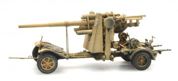Artitec 6870070 - WM 88mm FLAK 18 geel  ready 1:87