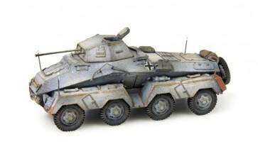 Artitec 387.71 WG - WM Sdkfz 231 Pz. Spähwagen 8-Rad 20 mm Kanone grijs, winter  ready 1:87