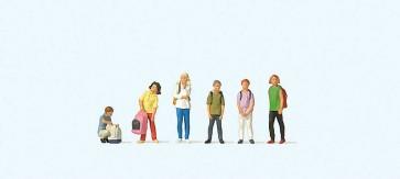 Preiser 10728 - 1:87 Schoolkinderen