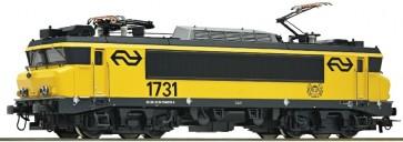 """Roco 73687 - E-loc 1731 NS """"Purmerend"""" OP=OP!"""