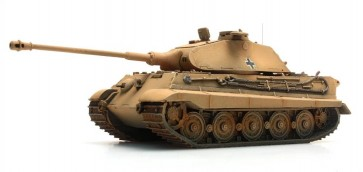 Artitec 387.74 YW - WM Tiger II (Porsche) geel  ready 1:87