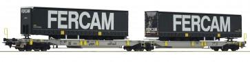 Roco 76435 - Doppeltwg. T2000+ Fercam
