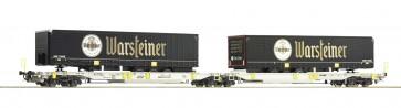 Roco 76436 - Doppeltwg. T2000+ Warsteiner