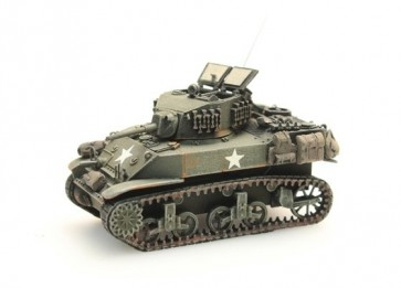 Artitec 387.79 S1 - US M5A1 Stuart Light Tank Stowage 1  ready 1:87
