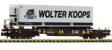Fleischmann 825055 - Trailerwagen T3 AAE + Wolter Koops Nederland