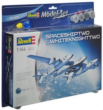 "Revell 64842 - 1:144  ""Model Set"" SpaceShipTwo&WhiteKnightTwo Virgin Galactic"