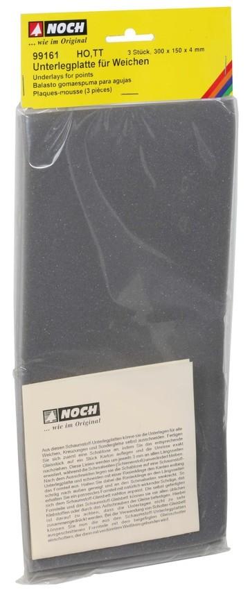 Noch 99161 - MÖSSMER Schaumstoff-Platten mit grauem Schotter