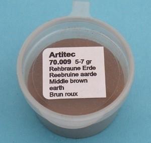 Artitec 70.009 - Reebruine aarde (modelbouwpoeder)  ---