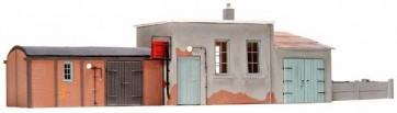Artitec 10.158 - Bijgebouw spoorwegpersoneel  kit 1:87