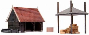 Artitec 10.188 - Schuur + accessoires  kit 1:87