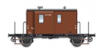 Artitec 20.214.04 - DG  D 2592, bruin, IIIb-c  train 1:87