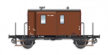Artitec 20.214.05 - DG  D 2698, bruin, IIIb-c  train 1:87