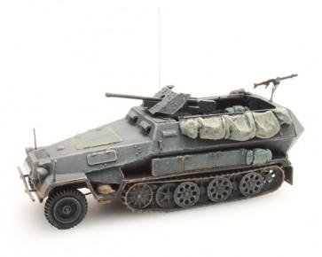 Artitec 387.111 GR - WM Sd. Kfz 25110B 3.7-Pak grijs  ready 1:87