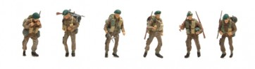 Artitec 387.134 - UK Commando 6 fig.  ready 1:87