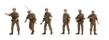 Artitec 387.162 - NL UNIFIL patrouille  6 fig..   ready 1:87