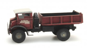 "Artitec 387.202 - Chevrolet 3T ""Jean Roggeman"" Dumptruck CIVIEL  ready 1:87"
