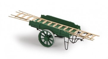 Artitec 387.24 GN - Ladderwagen groen  ready 1:87
