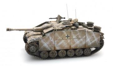 Artitec 387.49 WY - WM StuG III Ausf G Saukopf 1944 geel, winter  ready 1:87