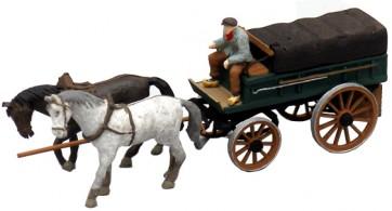 Artitec 387.65 - Boerenwagen met dekzeil  ready 1:87