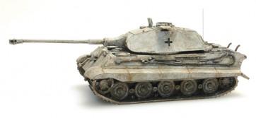 Artitec 387.74 WY - WM Tiger II Porsche geel, winter  ready 1:87