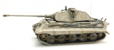 Artitec 387.75 WY - WM Tiger II Porsche m. Zimm. geel, winter  ready 1:87