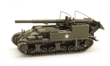 Artitec 387.78 - US M12 155mm Gun Motor Carriage  ready 1:87