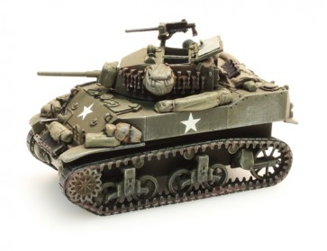 Artitec 387.79 S2 - US M5A1 Stuart Light Tank Stowage 2  ready 1:87
