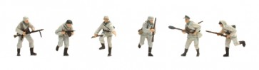 Artitec 387.82 W1 - WM Set 2 Deutsche Inf. winteruniform 6 fig.  ready 1:87