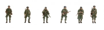 Artitec 387.89 - US Paratroopers 6 fig.   ready 1:87