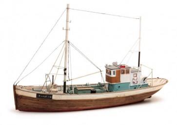Artitec 50.107 - Noorse vissersboot Framtid I  kit 1:87
