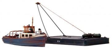 Artitec 58.102 - Barkas + ponton  kit 1:160