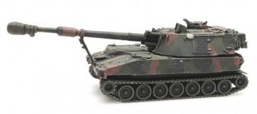 Artitec 6870149 - NL M109 A2 camo treinlading  ready 1:87