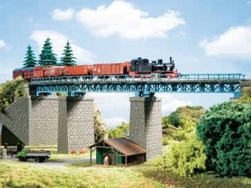 Auhagen 13325 - Stahlbrücke im Bogen