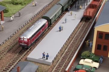 Auhagen 44641 - Bahnsteig ohne Überdachung