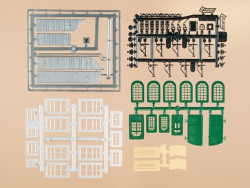 Auhagen 48551 - Bastelset für Industriegebäude