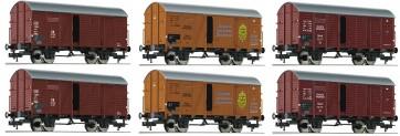 Fleischmann 533150 - Display mit 6 GR20 braun