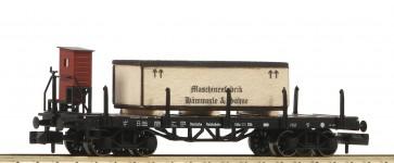 Fleischmann 828506 - Rungenwagen Holzkiste DRG