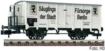 """Fleischmann 834609 - Gedeckter Güterwagen """"Säuglings-Fürsorge der Stadt Berlin"""", K.P.E.V."""