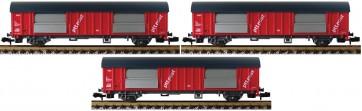 Fleischmann 834801 - 3-tlg. Set Postwagen ptt Post