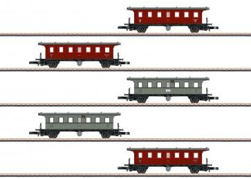 Marklin 87009 - Plattformwagen-Set K.W.St.E.