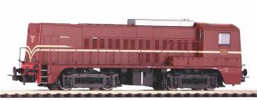 Piko 52695 - ~DiesellokSound Rh 2200 NS rotbraun III + PluX22 Dec.