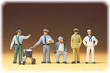 Preiser 10014 - 1:87 Diverse beroepen